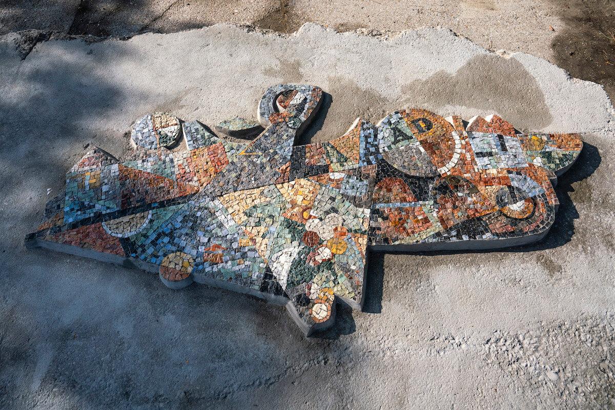 mozaika rínok rača